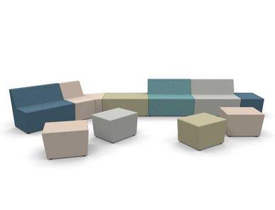 Итальянский модульный диван BRICK фабрики CUF Milano