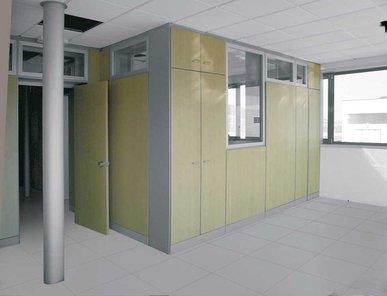 Итальянская акустическая стена Box Offices фабрики CUF Milano