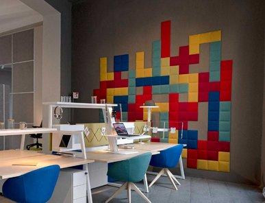 Итальянская акустическая панель TETRIX GAME фабрики CUF Milano