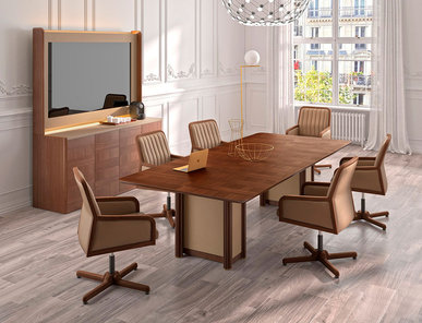 Стол для переговоров Art Deco фабрики OFIFRAN