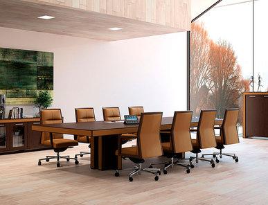 Стол для переговоров Belesa фабрики OFIFRAN