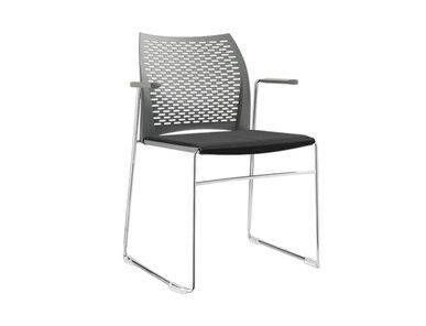 Итальянский стул с подлокотниками Mail Visitor фабрики Sitland