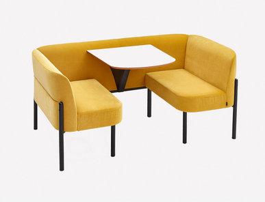 Мягкая мебель Hue HUEST фабрики NAUGHTONE