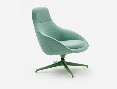 Кресло Always lounge ALLOB4S фабрики NAUGHTONE