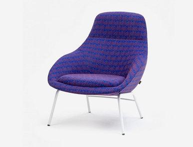 Кресло Always lounge ALLOBST4 фабрики NAUGHTONE