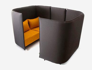 Акустическая мягкая мебель Cloud Plain CLOBP2 фабрики NAUGHTONE
