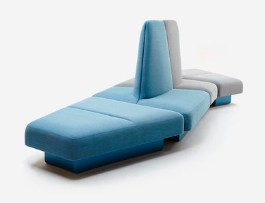 Модульная мякгая мебель Rhyme фабрики NAUGHTONE