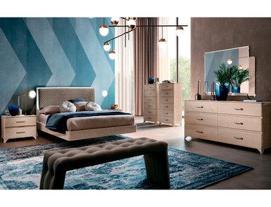 Итальянская спальня MAIA янтарная береза фабрики CAMELGROUP