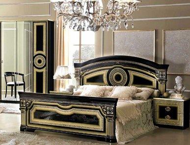 Итальянская спальня AIDA BLACK GOLD фабрики CAMELGROUP