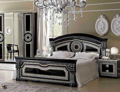 Итальянская спальня AIDA BLACK SILVER фабрики CAMELGROUP