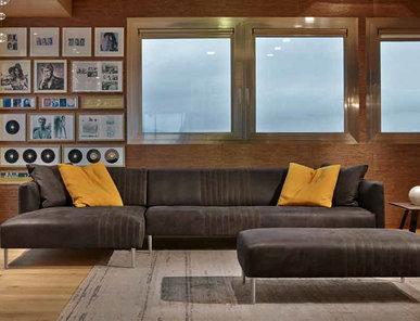 Итальянская мягкая мебель TUXEDO фабрики GAMMA ARREDAMENTI