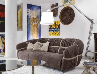 Итальянская мягкая мебель CROSSOVER фабрики GAMMA ARREDAMENTI