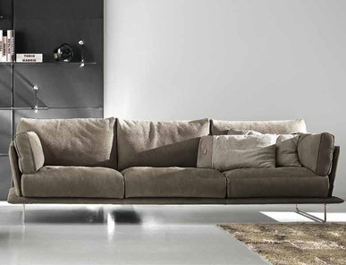 Итальянская мягкая мебель VESSEL фабрики GAMMA ARREDAMENTI