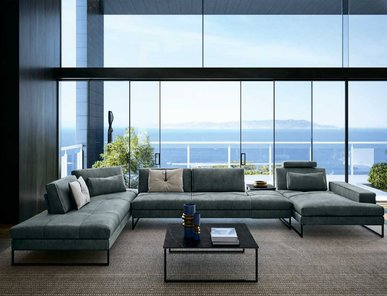 Итальянская мягкая мебель SUNSET фабрики GAMMA ARREDAMENTI