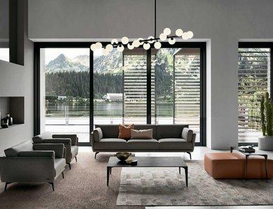 Итальянская мягкая мебель RALPH фабрики GAMMA ARREDAMENTI
