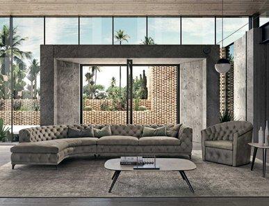 Итальянская мягкая мебель ASTON фабрики GAMMA ARREDAMENTI