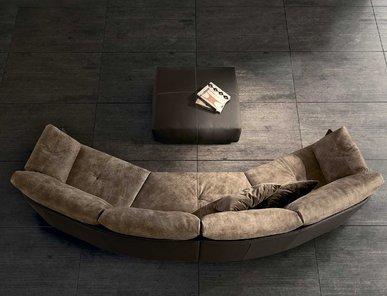 Итальянская мягкая мебель SWING фабрики GAMMA ARREDAMENTI