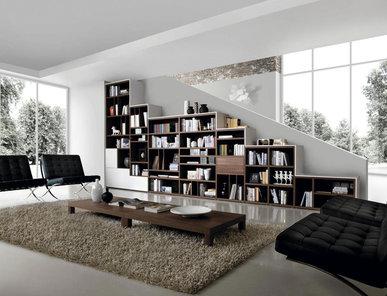 Итальянский книжный шкаф LIBRERIA 02 фабрики KIKO