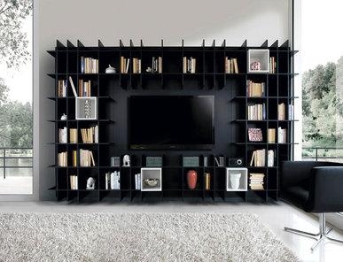 Итальянский книжный шкаф LIBRERIA 03 фабрики KIKO