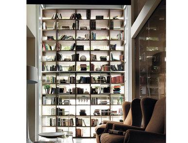 Итальянский книжный шкаф LIBRERIA 04 фабрики KIKO
