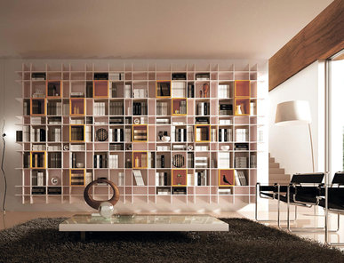Итальянский книжный шкаф LIBRERIA 05 фабрики KIKO