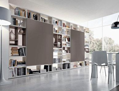 Итальянский книжный шкаф LIBRERIA 07 фабрики KIKO