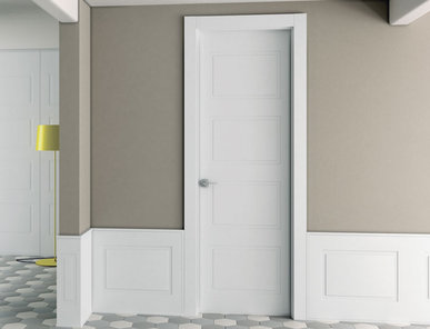 Итальянская дверь BLANC QUADRO4 фабрики BARAUSSE