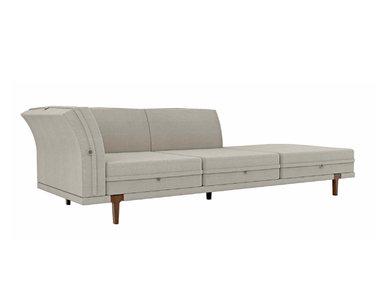 Итальянский 2-х местный модульный диван ASOLA фабрики RUBELLI CASA