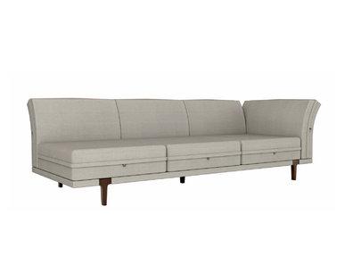 Итальянский 3-х местный модульный диван ASOLA фабрики RUBELLI CASA