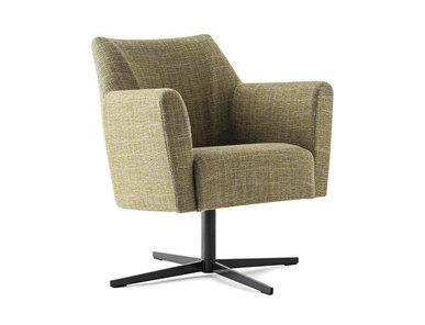 Итальянское кресло SILVANA LOUNGE фабрики RUBELLI CASA