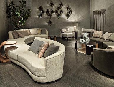 Итальянский модульный диван RIVERSIDE фабрики RUBELLI CASA