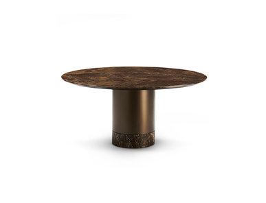 Итальянский стол CILINDRO top marmo фабрики EFORMA