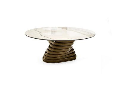 Итальянский журнальный стол ROTOLO top ceramica фабрики EFORMA