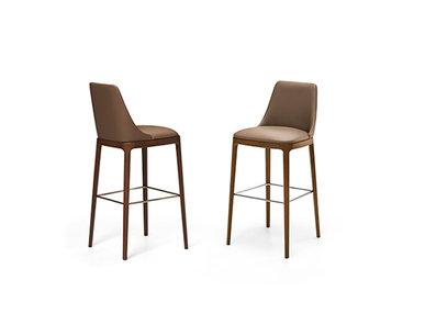 Итальянский барный стул MAX legno фабрики EFORMA