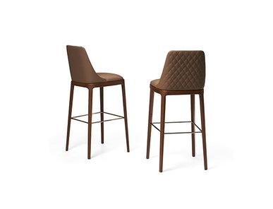 Итальянский барный стул MAX DIAMOND legno фабрики EFORMA
