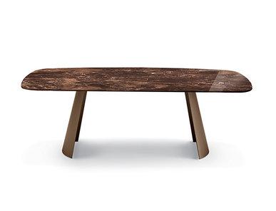 Итальянский стол DORIAN top marmo фабрики EFORMA