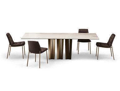 Итальянский стол NARCISO top ceramica фабрики EFORMA