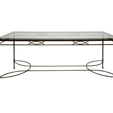Итальянский прямоугольный стол AMALFI фабрики JANUS ET CIE