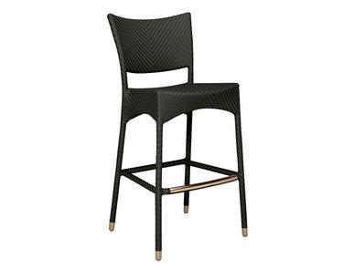 Итальянский барный стул AMARI RATTAN фабрики JANUS ET CIE