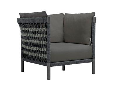 Итальянское кресло ANATRA LOUNGE фабрики JANUS ET CIE