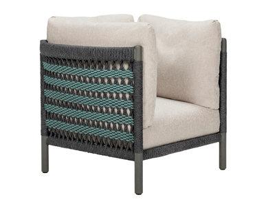 Итальянское кресло ANATRA PETITE LOUNGE фабрики JANUS ET CIE