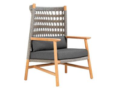 Итальянское кресло ANATRA TEAK фабрики JANUS ET CIE