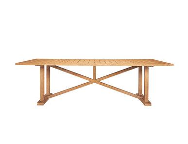 Итальянский прямоугольный стол ARBOR 289 фабрики JANUS ET CIE