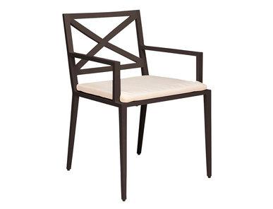Итальянский стул с подлокотниками AZIMUTH CROSS фабрики JANUS ET CIE