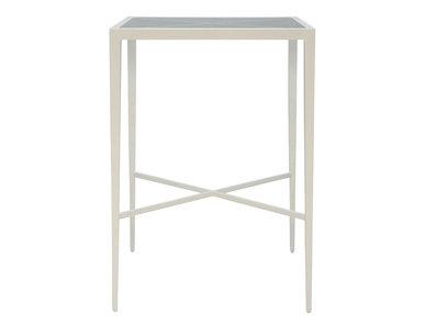 Итальянский квадратный столик AZIMUTH CROSS 76 фабрики JANUS ET CIE