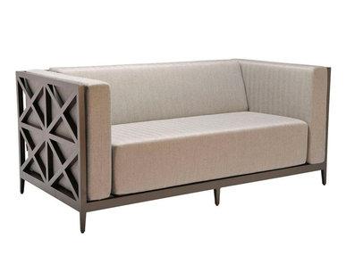 Итальянский 2-х местный диван AZIMUTH CROSS CLUB фабрики JANUS ET CIE