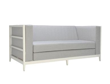 Итальянский 2-х местный диван AZIMUTH LINEAR CLUB фабрики JANUS ET CIE