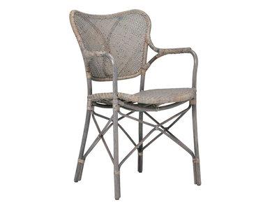 Итальянский стул с подлокотниками BAGUETTE фабрики JANUS ET CIE
