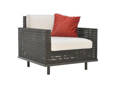 Итальянское кресло BOXWOOD LOUNGE фабрики JANUS ET CIE