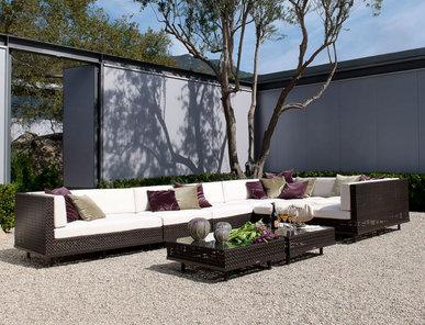 Итальянский модульный диван BOXWOOD фабрики JANUS ET CIE